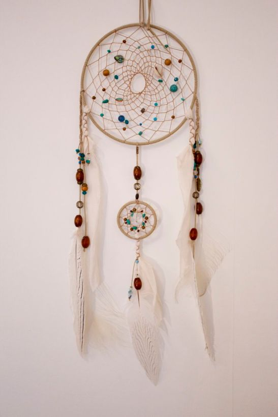 ocean blue dream catcher