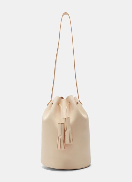 Building Block bag - tan leather